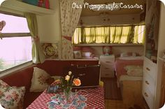 thebouselife: Caravan Makeover and moving in!