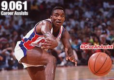 #DetroitPistons Fans: Isiah Thomas gave 9,061 assists. Can you #GiveAnAssist on #GivingTuesday? #NBA #Basketball #Detroit #infographic #sports
