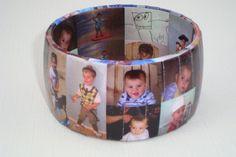 Personalized Mothers Day Photo Bracelet Keepsake Gift