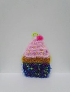 Éponge Vaisselle écologique Cupcake Creative Bubble, Cupcake In A Cup, Cupcakes, Kawaii, Purple Roses, Decorative Objects, Shades Of Green, Blue Yellow, Diy And Crafts