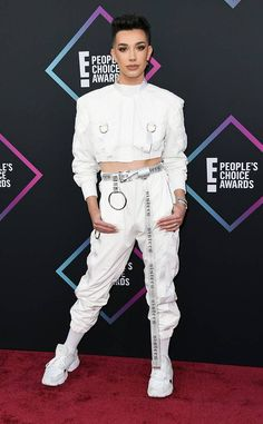 James Charles Wins Beauty Influencer of 2018 at the PCAs and Works His Makeover Magic on Surprised Fans Charles James, Celebs, Celebrities, Looks Cool, Red Carpet Fashion, Celine Dion, Jason Momoa, Jennifer Lopez, Blake Lively