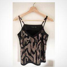 Size 10: Portmans Sequin Top AVAILABLE