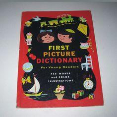 First Picture Dictionary For Young Readers by grandmothersattic