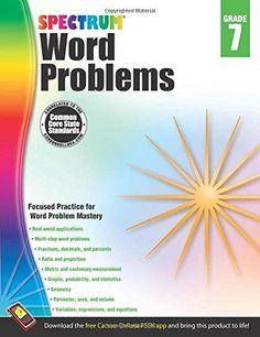 Word Problems, Grade 7 (Spectrum) Price:$9.99