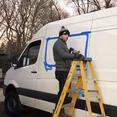 Creating a Window in this Sprinter Van - Caravan - One of the tasks you may find yourself doing while converting your home on wheels is cutting out an - Van Conversion Interior, Camper Van Conversion Diy, Van Conversion Windows, Van Life, Iveco Daily Camper, T5 Camper, Van 4x4, Equipement Camping Car, Sprinter Van Conversion