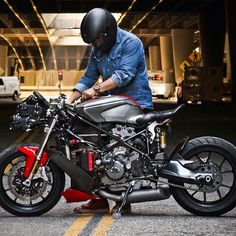 220 Duc 749 Custom Project Ideas Cafe Racer Ducati Ducati Cafe Racer