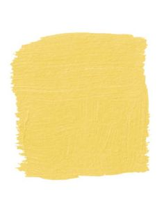 "Babouche: ""In a guest room that seems a little staid, paint the bed. This is a Ming yellow like you see in Chinese silk robes, with a little lemon and mustard in it, which gives it more dimension."" -Kim Alexandriuk.  Pictured, Farrow & Ball's Babouche 223.  from HB"