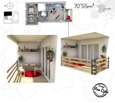French flat. Stan Opla Design