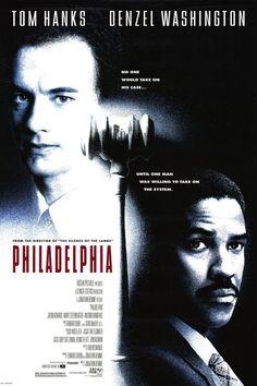 """Philadelphia"" (Jonathan Demme, con Tom Hanks, Denzel Washington y Antonio Banderas. Drama Movies, Hd Movies, Movies Online, Movie Film, Tv Series Online, Tv Shows Online, Episode Online, Streaming Vf, Streaming Movies"