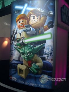 """New, """"fun"""" Star Wars cartoon TV series coming this fall.  Plus, a Lego Star Wars special."""