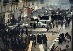 Paris, May 1968. Photo Bruno Barbey
