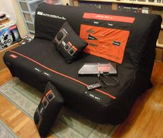 Master System couch! I want one for my birthday! I used to love my videogame