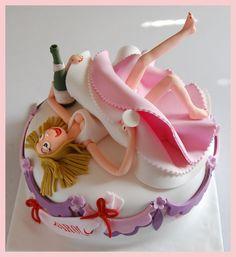 Bachelorette party - Cake...