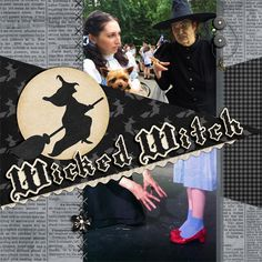 Wicked Witch - Scrapbook.com