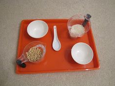 H is for Homeschooling: Chinese New Year Tot Trays