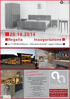 Moena, inaugurazione nuovo Show Room Mobilificio Artigiani Associati
