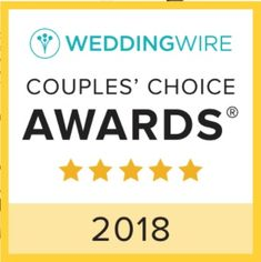 2018 Wedding Wire Couples' Choice Award