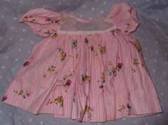 """Effanbee Dy-Dee Baby Factory Dress for 20"""" Doll - considered an 'after market' dress"""