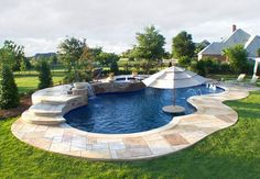 Like the little table inside the pool--why this is saved