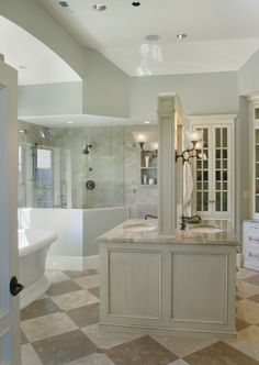 Love the back to back vanities