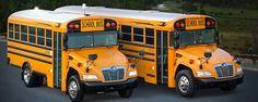 2014 Brochure Image For The 2015 Blue Bird Vision School Bus Models. Old School Bus, School Buses, Bluebird Buses, Retro Bus, Future School, Wheels On The Bus, State School, New Bus, Chrome Wheels