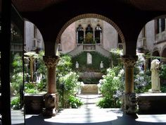 The Isabella Stewart Gardner Museum. Boston. This garden is one of my favorite places in the world to sit and think.
