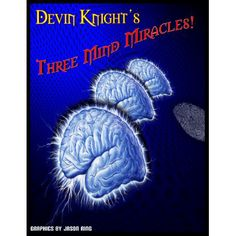 Three Mind Miracles by Devin Knight (eBook) - This ebook contains three effects from Devin Knight that are about as close to real mindreading as you can get. TAROT FOLD TOLD An ungimmicked Tarot Deck is shown and given to anyone to shuffle. Four people are invited to come forward. They remove the top five cards from the shuffled Tarot Deck and arrange them face up ... get it here: http://www.wizardhq.com/servlet/the-14534/three-mind-miracles-by-devin-knight-ebook/Detail?source=pintrest