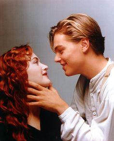 Kate Winslet & Leonardo DiCaprio - Titanic promo shoot