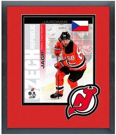 "Jaromir Jagr Devils-2014 Czech Republic Olympic Team-11""x14""Matted/Framed Photo"
