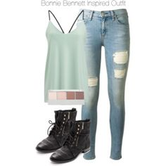The Vampire Diaries - Bonnie Bennett Inspired Outfit