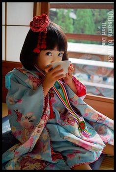 Japanese Babies, Cute Japanese, Japanese Kimono, Cute Little Girls, Cute Kids, Cute Babies, Asian Kids, Asian Babies, Japanese Festival