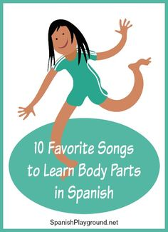 Spanish body parts songs use rhythm and movement to teach important vocabulary to bilingual kids. 10 favorites songs from top artists for kids to learn body parts in Spanish. Preschool Spanish Lessons, Learning Spanish For Kids, Spanish Teaching Resources, Spanish Activities, Spanish Language Learning, Listening Activities, Spanish Lesson Plans, Teaching Activities, Learning English