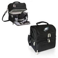 203: Vintage Metal NFL Lunch Box with Thermos | LUNCH BOXES ...