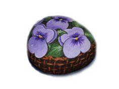 Sassi Dipinti - Piante e fiori