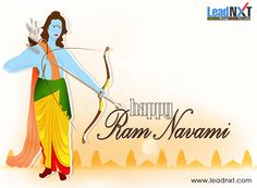 May you be blessed on the birth of #Lord Rama to King #Dasharatha and Queen Kausalya of Ayodhya. A very blessed Ram Navami to you n ur family !! #HappyRamNavami #LeadNXT