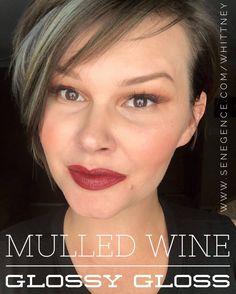 Mulled Wine Lipsense with Glossy Gloss