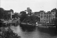 River Boats | Photograph | Wisconsin Historical Society