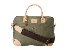 Will Leather Goods Wax Canvas Flight Bag Olive - Zappos.com Free Shipping BOTH Ways