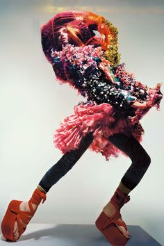 Eccentric Visionary Couture: 'Unbelievable Fashion' in Vogue UK