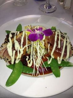 AMAZING seared Tuna!! | Fresh Catch Bistro | Fort Myers Beach