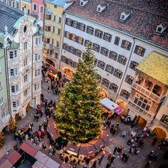 Innsbruck  Christmas Marjket in Old Town 2013