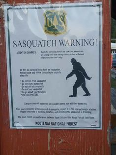 Not sure if this has been posted yet. Yeti Bigfoot, Bigfoot Sasquatch, Bigfoot Birthday, Bigfoot Stories, Bigfoot Pictures, Pie Grande, Native American Prayers, Finding Bigfoot, Bigfoot Sightings