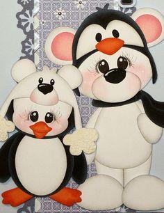 oso y pinguino