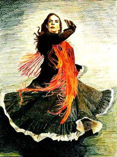 """Flamenco"" by Cameron Burger for the #CreativeCover Contest"