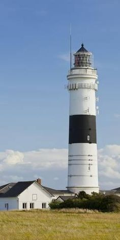 Photographic Print: Lighthouse Of Kampen (Municipality), Sylt (Island),  Schleswig