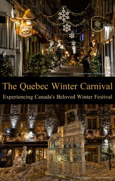 Best Way To Safeguard Your Investment Decision - RV Insurance Policies The Quebec Winter Carnival-Experiencing Canada's Beloved Winter Festival Christmas Travel, Holiday Travel, Christmas In Canada, Quebec City Christmas, Vancouver, Toronto, Canada Destinations, Christmas Destinations, Quebec Winter Carnival