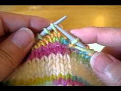 A new technique for wrap & turns. This is the way to go! Super easy!! German Short Rows Part I - Purl to knit (+playlist)