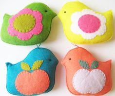 Cute felt toys