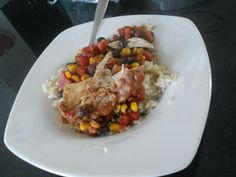 "being healthy. a journey.: Mandy's Wild Rose Detox ""Salsa"" Chicken"