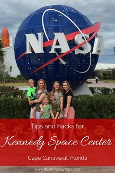 Tips and hacks for visiting the Kennedy Space Center in Cape Canaveral, Florida with kids | tipsforfamilytrips.com | spring break | summer vacation | winter break